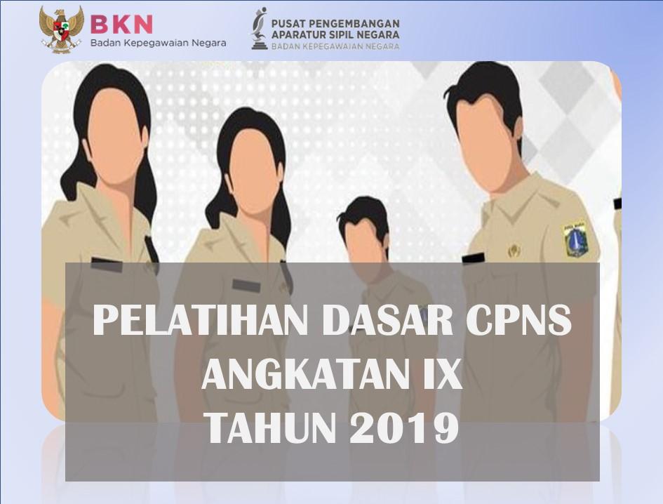 Pelatihan Dasar CPNS Golongan III Angkatan IX