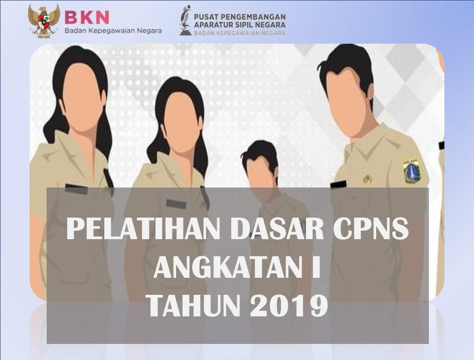 Pelatihan Dasar CPNS Golongan III Angkatan I