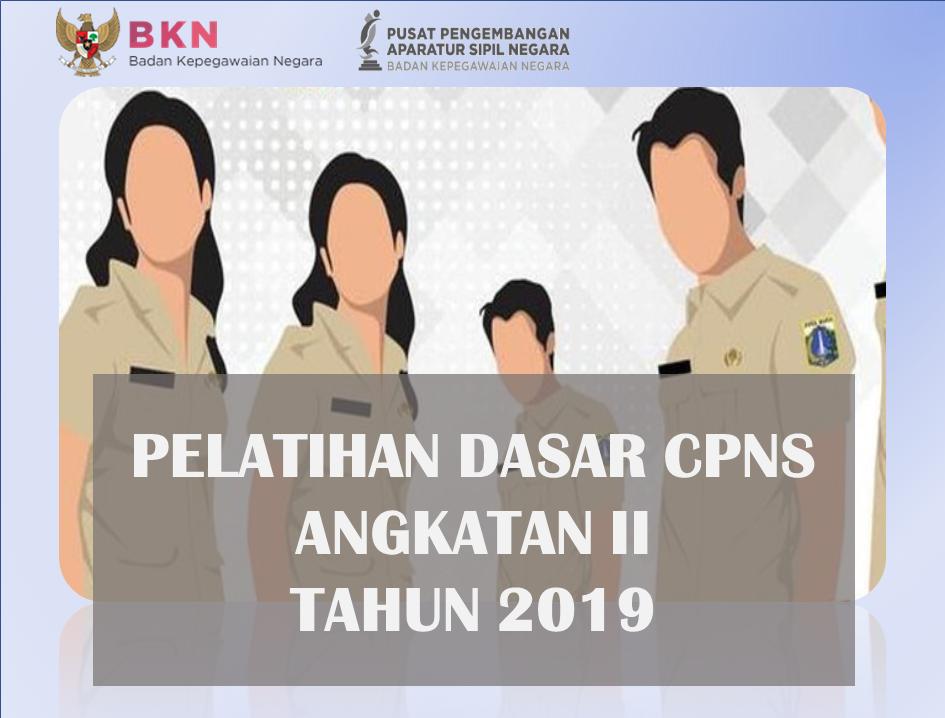 Pelatihan Dasar CPNS Golongan III Angkatan II